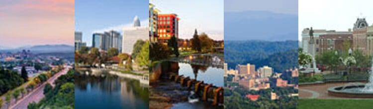 Cityscapes of Cary Moving Locations