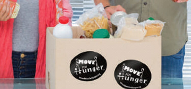 move for hunger box filled with food