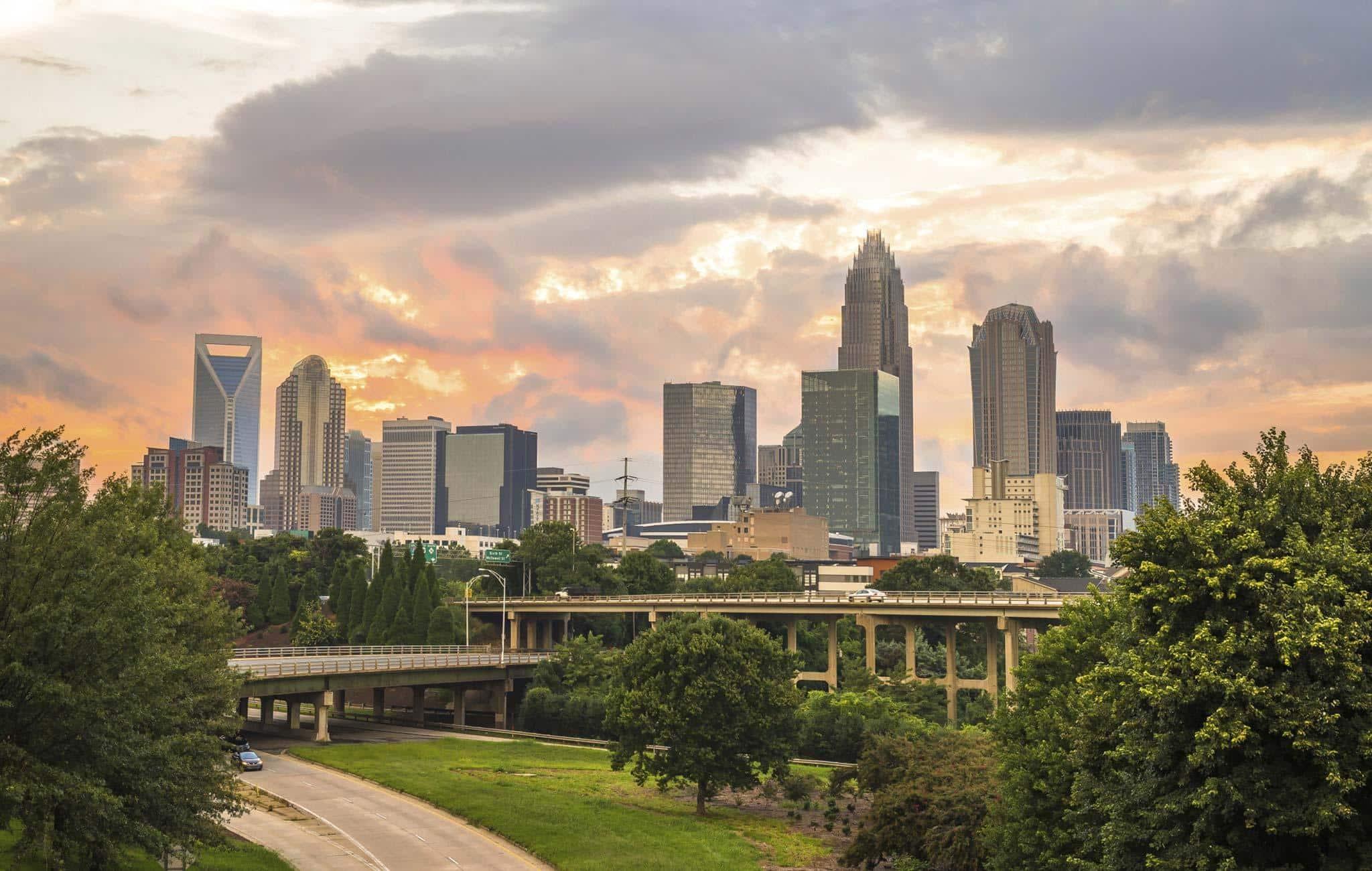 Charlotte city scape