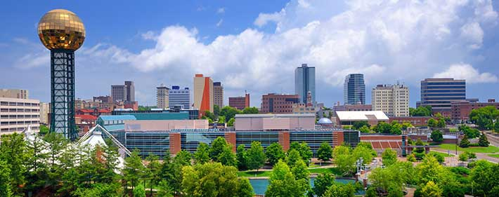 Knoxville cityscape