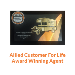 Allied life award winner