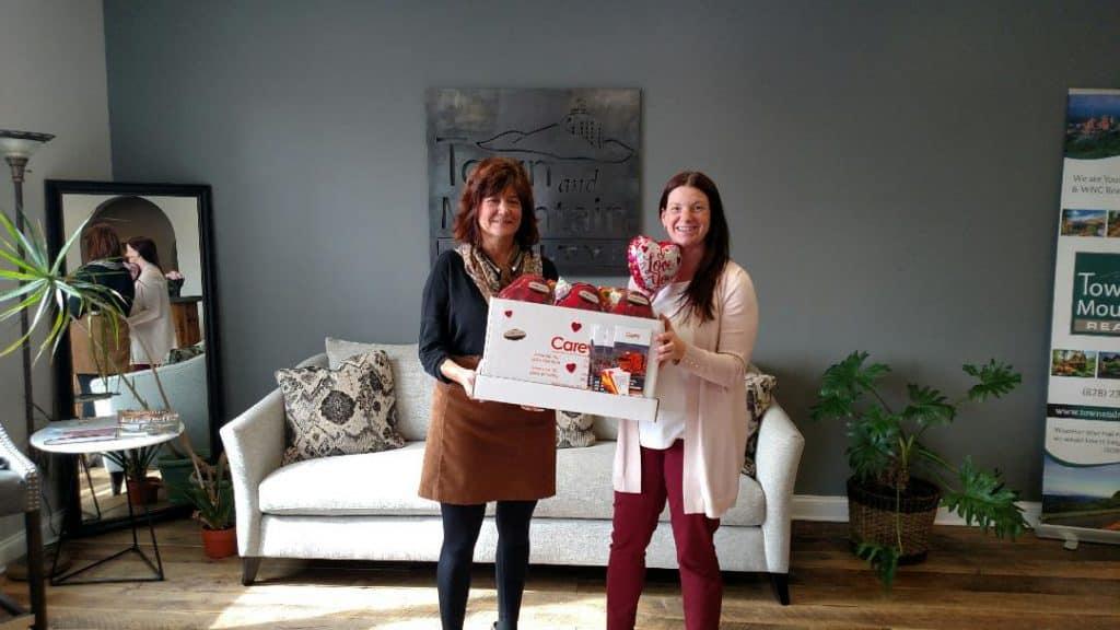 Hilary Paradise & Carey Moving's Kimberly Payne Enjoying Valentine treats